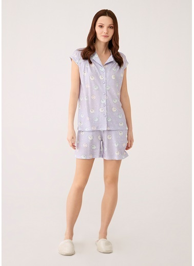 Dagi Pijama Takım Lila